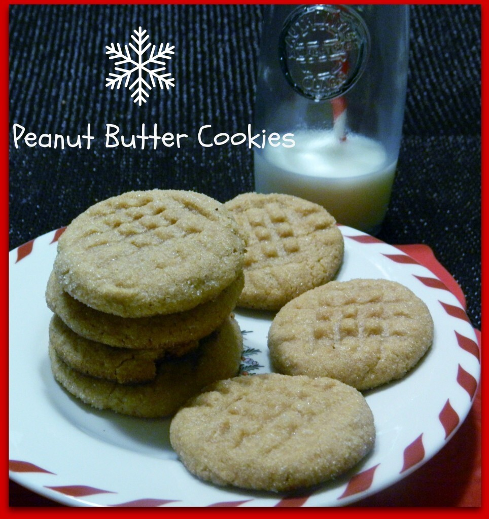 Peanut Butter Cookies – Only Three Ingredients