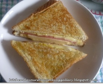 Apple, Ham and Cheddar Melt : Cook Like A Star
