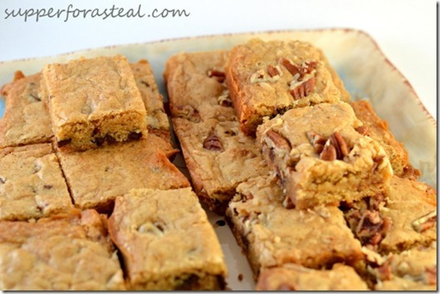 Congo Bars for #SundaySupper