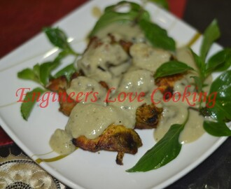 AYAM PERCIK KUAH PUTIH / ROASTED CHICKEN WITH CREAMY SAUCE