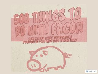 500 Things To Do With Facon