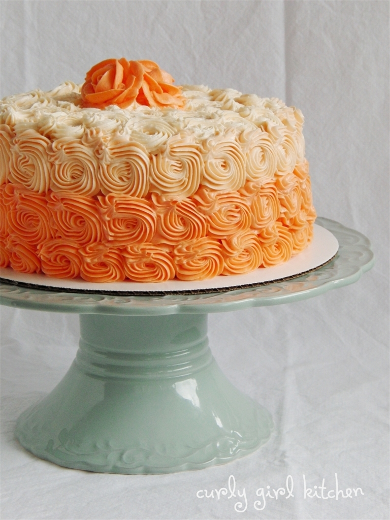 If Life was a Slow Dance, and Orange Dreamsicle Cream Cake