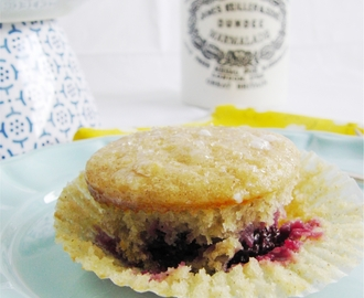 Lemon Blackberry Muffins, and the Picnic Bug