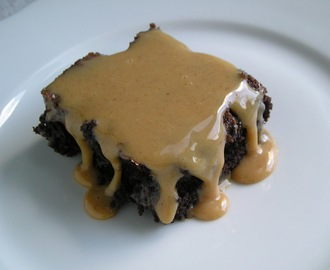 Mexican Brownies with Cinnamon Dulce de Leche