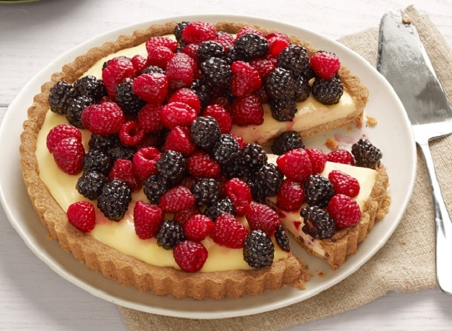 Cheesecake de Frutos Silvestres ~ Receita Light