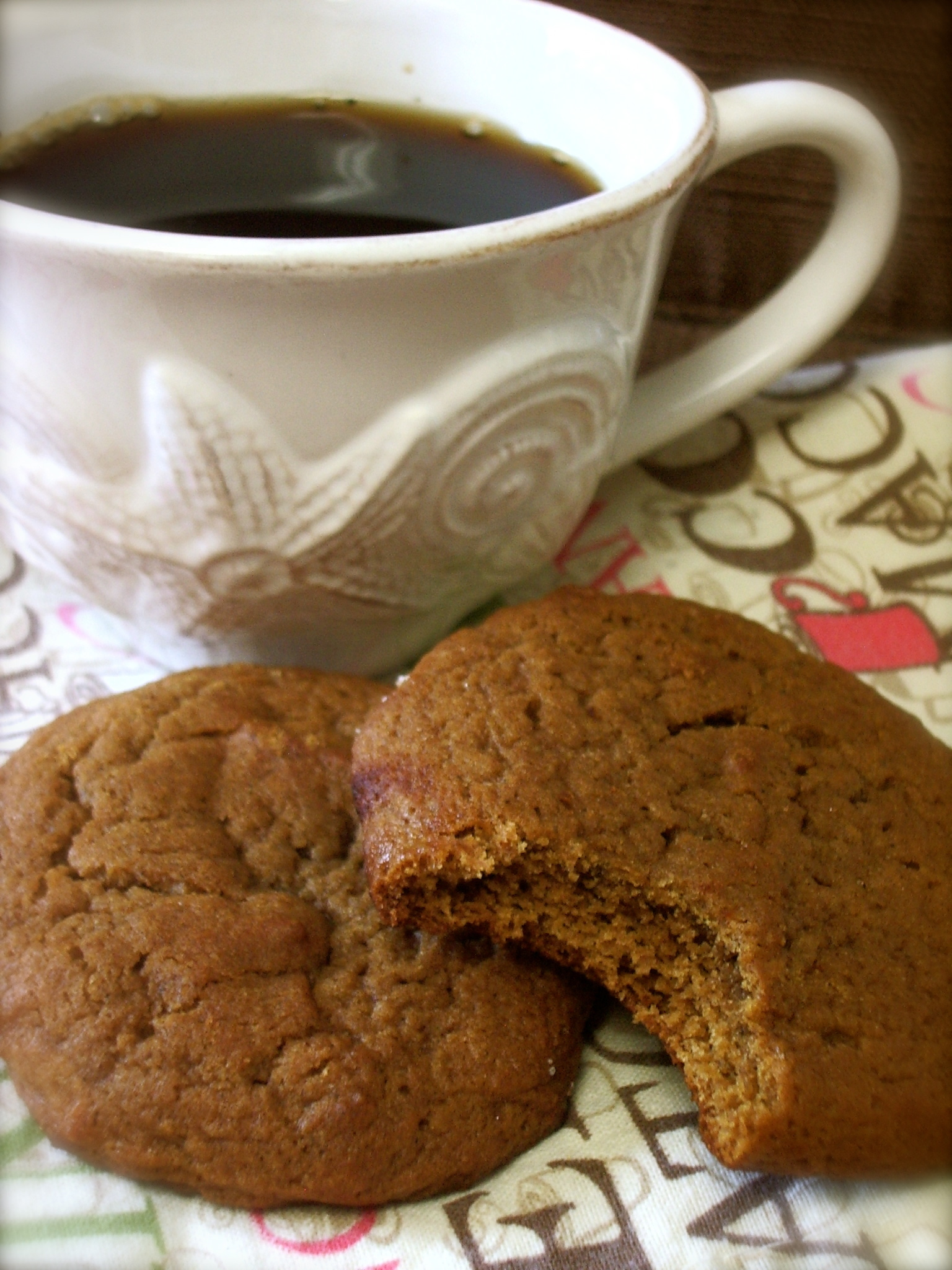 {Soft} Ginger Cookies