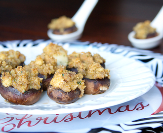 Blue Cheese Stuffed Mushrooms