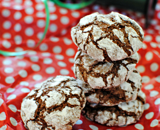 Peppermint Crinkle Cookies {Cookie Swap Recipe}