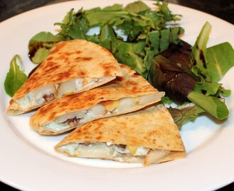 Pear and Blue Cheese Quesadilla