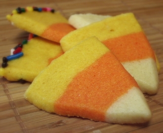 {Beware: Cuteness Overload!}: Candy Corn Sugar Cookies
