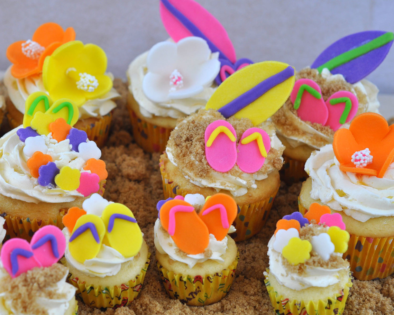 Summer Cupcake Ideas