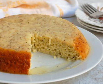 Love Goes A Long Way With This Lemon Poppy Seed Cake!