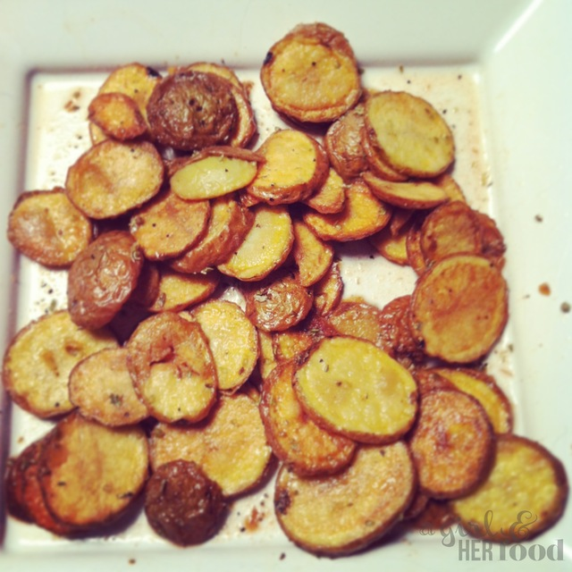 Greek Style Potatoes or Patates