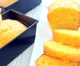 Mini Lemon Loaf Cakes