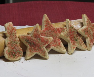 Recipe for Pie Crust Christmas Cookies