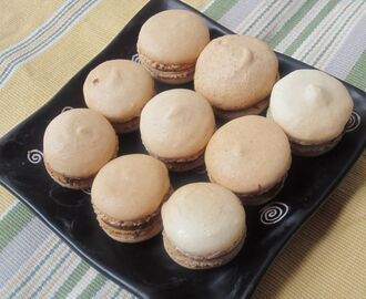 Macarons with Nutella Filling