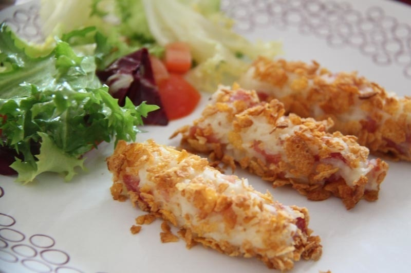 Croquettes de riz au jambon (Crousty Party Tupperware)