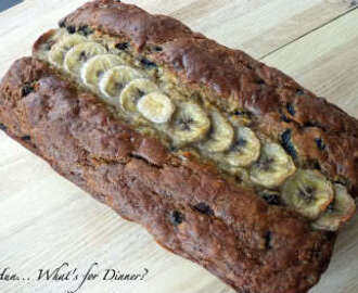 Blueberry Yogurt Banana Bread