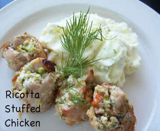 Ricotta Stuffed Chicken