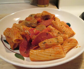Newman's Own Italian Sausage & Rigatoni Complete Skillet Meal w/ …..