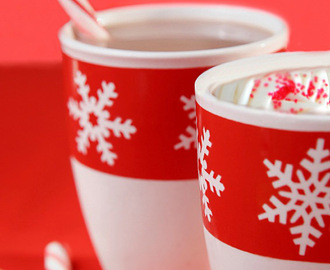A Virtual Christmas Party with Triple Chocolate Hot Cocoa