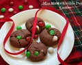{10th Day of Christmas} Mint M&M Chocolate Pudding Cookies