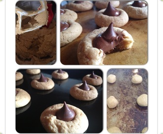 Super Soft Peanut Butter Blossom Cookies!