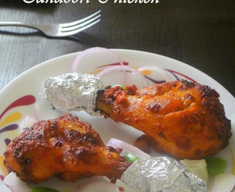 Grilled Tandoori Chicken  /  Restaurant Style Tandoori Chicken ( in oven ) :