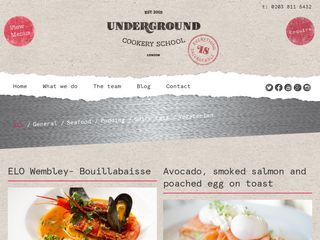 Underground Cookery School