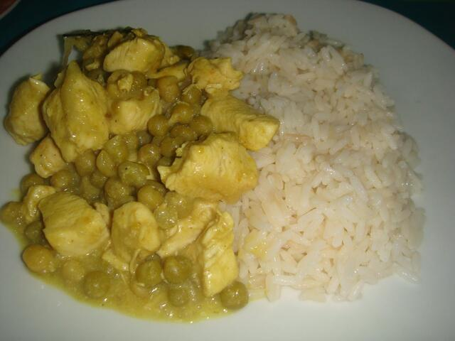 POLLO THAI CON ARROZ