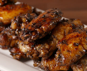 Balsamic Glazed Wings