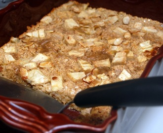 APPLE & BANANA BAKED OATMEAL