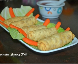 Vegetable Spring Rolls - Spring Roll Recipe - How to make Spring Rolls?