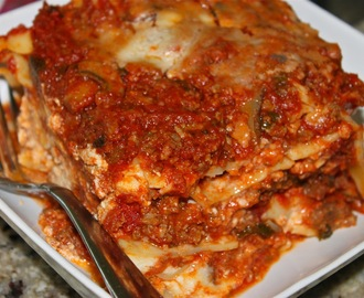 A Slice of Lasagna!