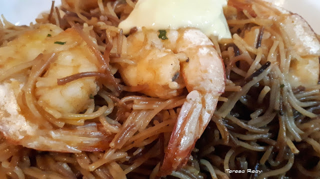FIDEUA OR ROSSEJAT DE FIDEUS - ANGEL HAIR PASTA WITH SEAFOOD