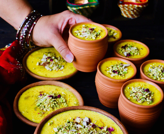 Kashmiri Phirni Recipe ~ Diwali Sweet / Happy Diwali