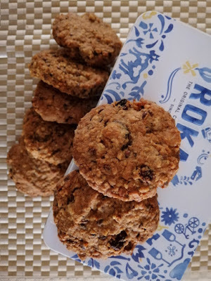 Flaxseed Oat Coconut Cookies