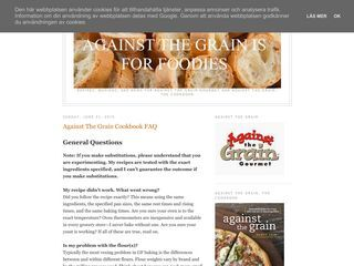 Against the grain is for foodies