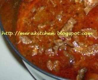 Goat meat Curry - Mutton Masala
