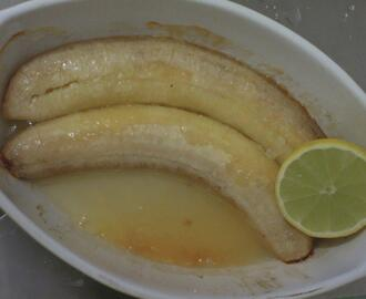 Bananas no forno