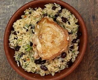 One pot pollo con arroz