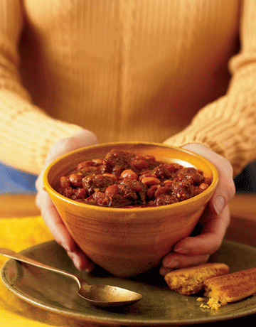 Cowboy Chili & Classic Corn Sticks