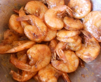 Beach Side Spicy Shrimp
