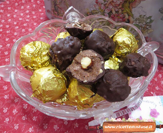 Cioccolatini simil ferrero rocher