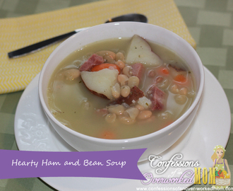 Leftover Ham Recipe – Hearty Ham and Bean Soup Recipe