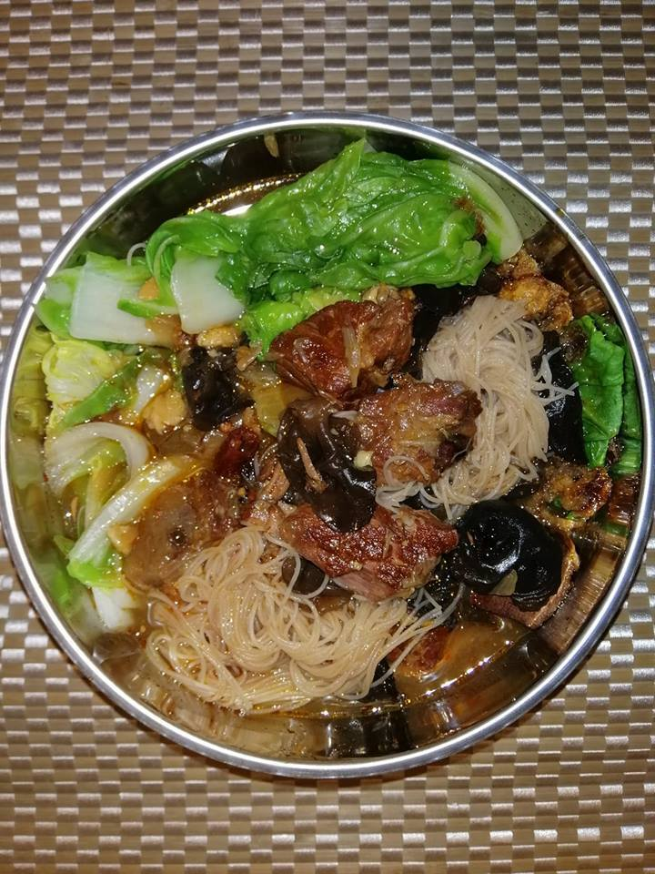 Taiwanese beef noodles