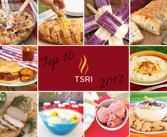 Top 10 TSRI Recipes of 2012