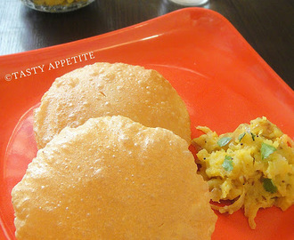 How to make Puri / Indian Poori Recipe / Easy Step-by-Step Recipe: