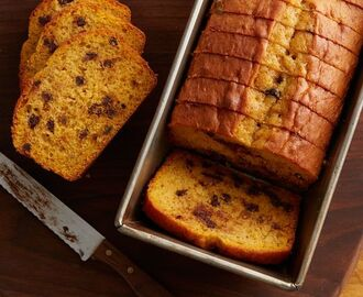 Easy Pumpkin-Banana Bread