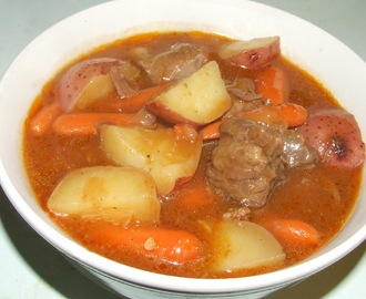 Beer and Paprika Beef Stew
